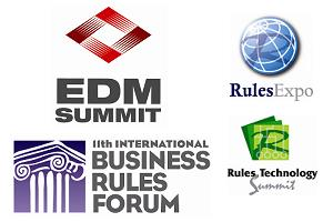 EDM Summit and Business Rules Forum Logos